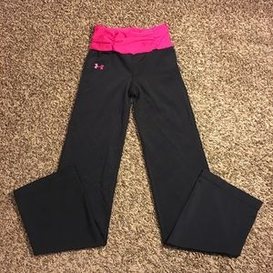 Under Armour Women's Straight Leg Athletic Pants